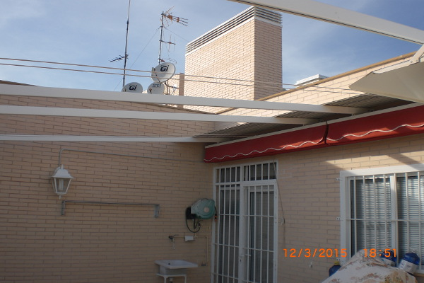 Trabajo terraza cubierta